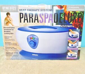 Homedics PARASPA Deluxe PAR-250 Paraffin Heat Therapy Wax Bath Spa!!
