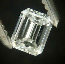 "Superb 0.28 carat EMERALD cut  diamond ""F"" SI-2"