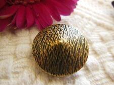 bouton ancien en métal texturé bombé collection diamètre: 2,2  cm D8F