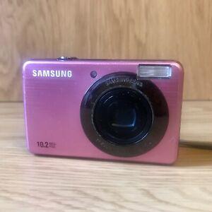 Samsung PL Series PL50 10.2MP Digital Camera - Pink