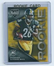 Le'Veon Leveon Bell 2013 Panini Black Friday Rookie Card #37 numbered of 299