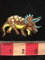 Prehistoric Extinct DINOSAUR Patch (Triceratops ?) 67WS