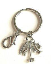 Lawyer Law Keychain Handbag Charm Zipper Pull LOVE Purse Paralegal Graduate Gift
