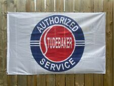 Studebaker Authorized Service Logo 3 X 5 Banner Flag