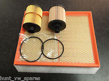 VAUXHALL ASTRA 1.3 CDTI SERVICE KIT OIL AIR FILTERS - 2 OIL FILTERS INCLUDES