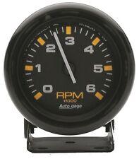 Auto Meter 2306 Blackblack Pedestal 2 34 Tachometer 0 6000 Rpm Auto Gauge