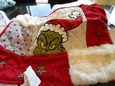 1 Pottery Barn Teen Grinch quilted  standard sham Christmas  New