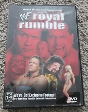 WWF ROYAL RUMBLE 2000 DVD RARE WWE THE ROCK HHH KANE CACTUS JACK OOP