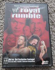 WWF ROYAL RUMBLE 2000 DVD RARE WWE THE ROCK HHH KANE CACTUS JACK OOP