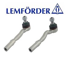 For Mercedes W211 W219 E550 Set of Left and Right Outer Tie Rod Ends Lemfoerder
