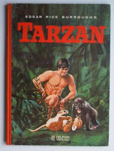 Tarzan 1970 Bilderbuch von Edgar Rice Burroughs 3. Aufl. Delphin Verlag