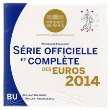 Brilliant Uncirculated coin set France 2014