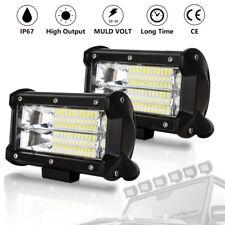 LED Arbeitsscheinwerfer PKW Scheinwerfer Strahler Fernscheinwerfer 2X 72W