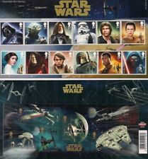 2015 GB QEII ROYAL MAIL COMMEMORATIVE STAMP PRESENTATION PACK NO 518 STAR WARS