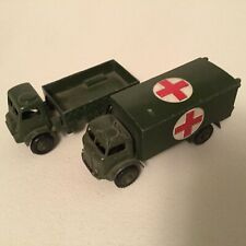 Dinky Toys Die cast 1950's Military Truck 623 Military Ambulance 626