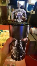 TERMINATOR DARK FATE MOVIE TIE IN TUMBLER W MINI FIGURINE TOP NEW LIMITED ED