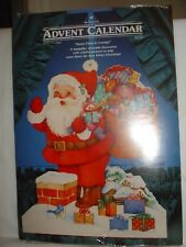 "Hallmark Advent Calendar ""Santa is Coming"" with envelope new sealed"