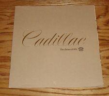 Original 1976 Cadillac Full Line Sales Brochure 76 Fleetwood Eldorado