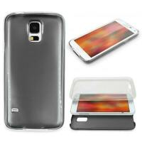 Samsung Galaxy S5 360 GRAD RUNDUM SCHUTZ Metalloptik TPU Slim Hülle Cover Case