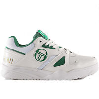 Sergio Tacchini Top Play CLS LTH Sneaker Uomo STM912015 03 White Green