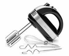 Andrew James AJ001408 300W Electric Hand Mixer - Black