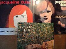 Jacqueline Dulac   [3 LP Vinyl] Mosaique + Besoin des autres + c'est merveilleux