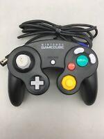 Nintendo GameCube Black Controller (DOL-003) - Fast Shipping - D23