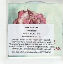 (FL823) Vive La Rose, Tinderbox - 2013 DJ CD
