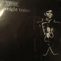"VISAGE....NIGHT TRAIN - - Rare 1982 Australian & New Zealand 7"" 45 w/ Pic Sleeve"