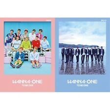 Wanna One [1x1=1 To Be One] 1st Mini 2 Ver SET CD+Poster+Sleeve+Card+Booklet+etc