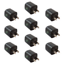 10 USB Black Battery Wall Charger for Apple iPhone 2 3 3G 3GS 4 4G 4S 5 5C 5G 5S
