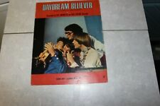 SHEET MUSIC  THE MONKEES   DAYDREAM  BELIEVER