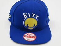 Golden State Warriors Blue Throwback 9FIFTY NBA New Era Custom Snapback Hat Cap