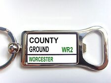Worcestershire County Street Road Sign Bottle Opener Keyring Gift