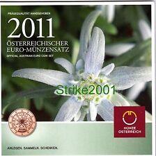 Euro AUSTRIA 2011 in Folder Ufficiale