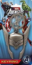 Marvel Avengers Assemble Thor Helmet Pewter Keychain Bag Clip MG-68083