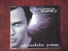 DOUBLE YOU - DO YOU WANNA BE FUNKY (PROMO, 2 TRACKS) CD