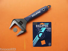 "EXTRA WIDE DEEP JAW SHIFTER  ADJUSTABLE WRENCH 12"" / 300mm ECLIPSE SHEFFIELD UK"