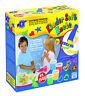 Feuchtmann Kinder Soft Knete mit Presse Dough-Factory Knete 4 x 150 g