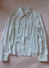Cartier White Formal Shirt Blouse- Size 40 (UK 8-10)