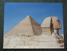SUPERB ORIGINAL PHOTOGRAPH OF GREAT SPHINX OF GIZA EYGPT 35 X 27 CMS