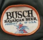 Vtg Busch Bavarian Beer Hat Trucker SnapBack Drinking Ball Cap Budweiser