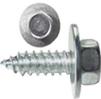 "12 X 3/4"" HEX HEAD ACME SCREW TAPPER TAPPERS SCREWS + CAPTIVE WASHER QTY 25 STW3"