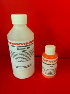 RTV Mould Making Rubber 4512 20A Condensation Cure Silicone 275 Gram Kit
