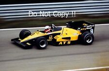 Manfred Winkelhock ATS D6 Dutch Grand Prix 1983 Photograph
