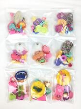 2 Bag Littlest Petshop Lot 20 Accessories Clothes, Food, Skirt Glasses Pet Shop