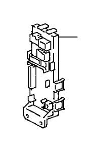 OEM TOYOTA SUPRA JUNCTION BLOCK 82671-14050 FITS 1993-1998