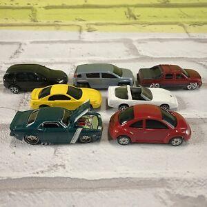 Maisto Diecast Car Truck Lot 1:64 Camaro VW Bug Touareg Mustang GMC