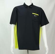 Nike Golf Tour Performance Polo Shirt Short Sleeve Black Men's L