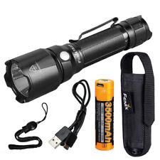 Fenix TK22 v2.0 1600 Lumen Tactical Flashlight 3500mAh USB Rechargeable Battery